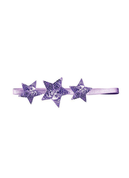 Tutu Du Monde Shooting Star Headband in Lilac available for rent from The Borrowed Boutique.