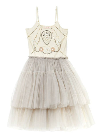 Tutu Du Monde Silver Angel Tutu Dress in Champagne available for rent from The Borrowed Boutique.