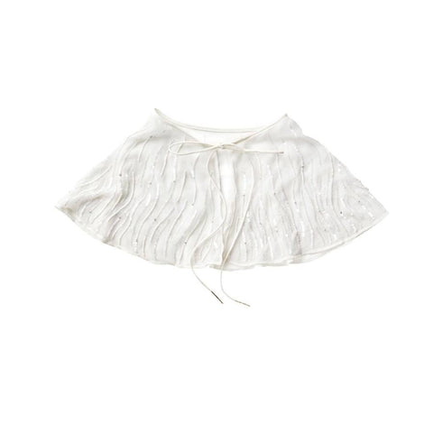 Tutu Du Monde Snow Angel Cape in Lait available for rent from The Borrowed Boutique.