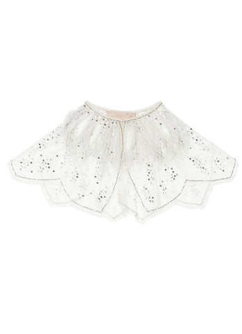 Tutu Du Monde Song of Snowflakes Cape In Milk