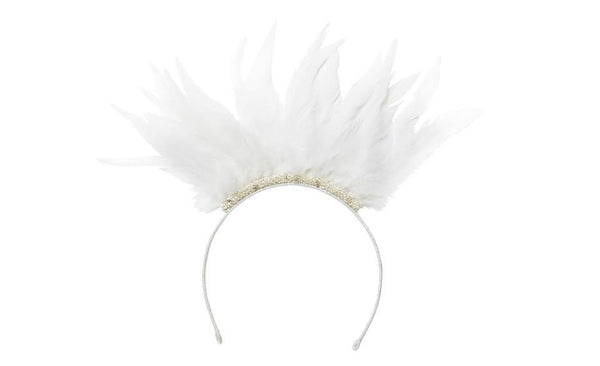 Tutu Du Monde Sparks Fly Headband in Lait available for rent from The Borrowed Boutique.