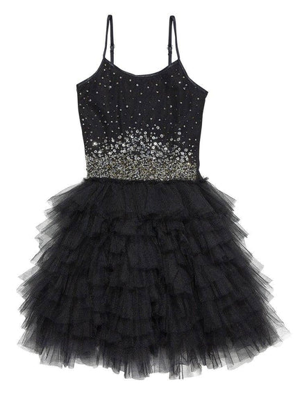 Tutu Du Monde Star Studded Tutu Dress in Black available for rent from The Borrowed Boutique.
