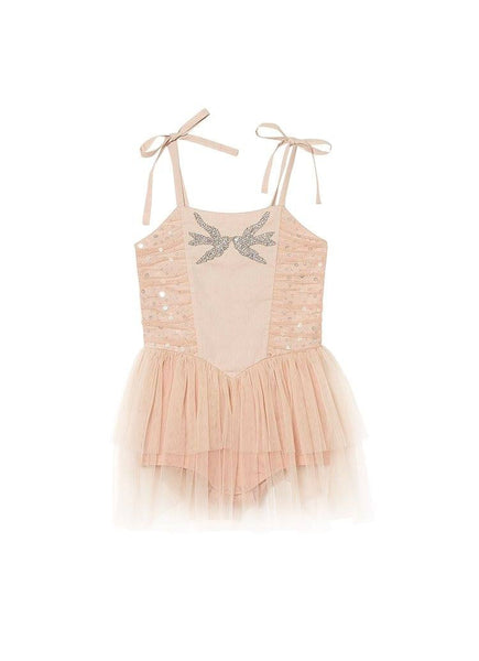 Tutu Du Monde Swallow Song Onesie in Spice/Rosewood available for rent from The Borrowed Boutique.