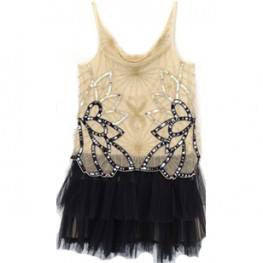 Tutu Du Monde Black Swan Tutu Dress in Lychee/Black available for rent from The Borrowed Boutique.