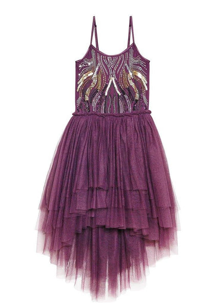 Tutu Du Monde The Dream Ends Tutu Dress in Mulberry available for rent from The Borrowed Boutique.