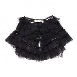 Tutu Du Monde Take Flight Capelet in Black available for rent from The Borrowed Boutique.