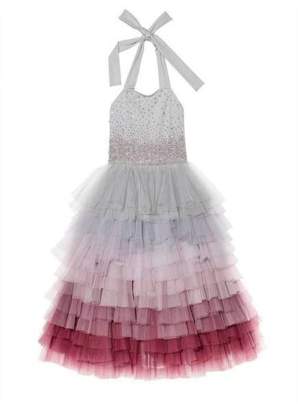 Rent the Tutu Du Monde Waterfall Tutu Dress in Silver from The Borrowed Boutique.
