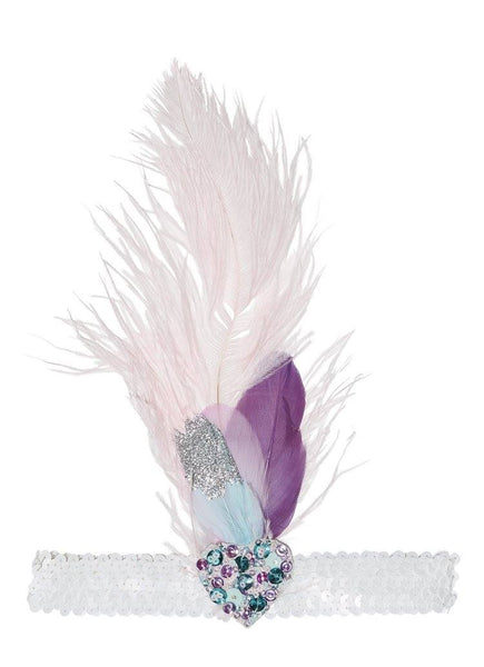 Tutu Du Monde Weekend Wishes Feather Headband in Orchid available for rent from The Borrowed Boutique.