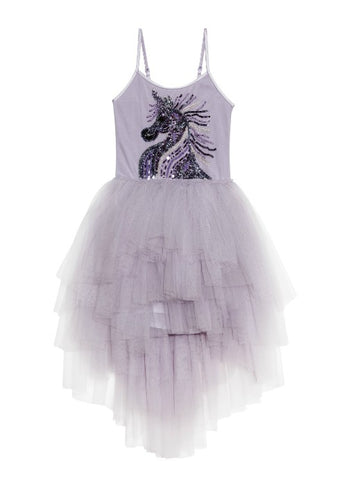 Tutu Du Monde Fantastical Unicorn Tutu Dress In Fog