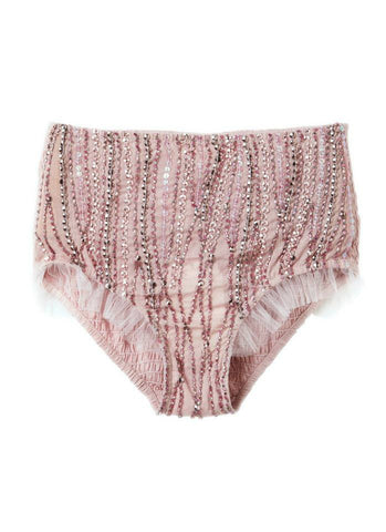 Tutu Du Monde Up High Sequin Shorts in Wisteria available for rent from The Borrowed Boutique.