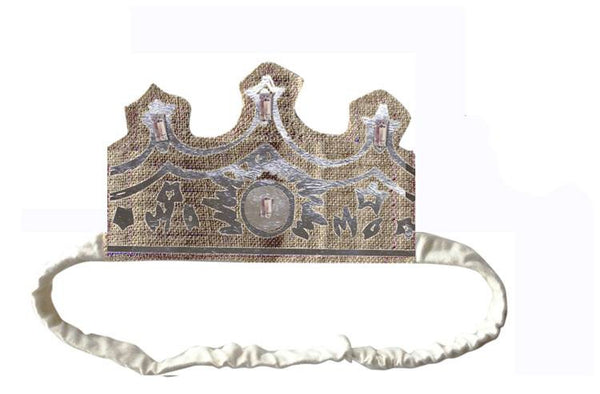Wovenplay Couronne Crown in Silver