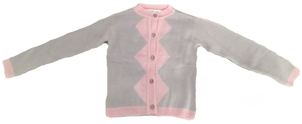 Wovenplay Jester Sweater in Silver/Rose