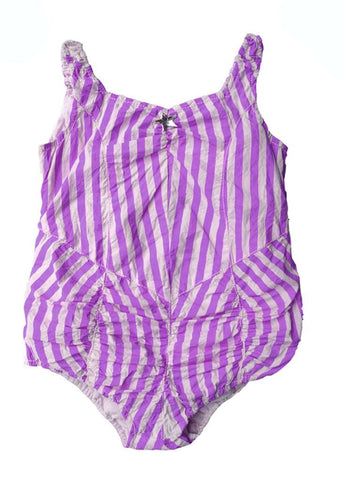 Wovenplay Lola Sunsuit in Orchid/Iris