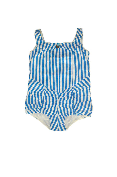 Wovenplay Lola Sunsuit in Powder Blue