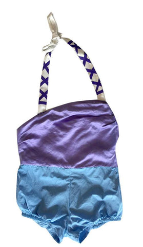 Wovenplay Rio Romper in Purple and Blue