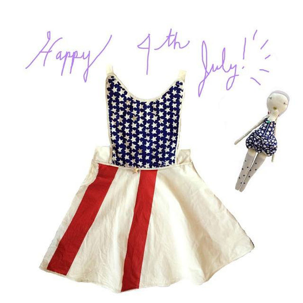 Wovenplay Stars and Stripes Dress