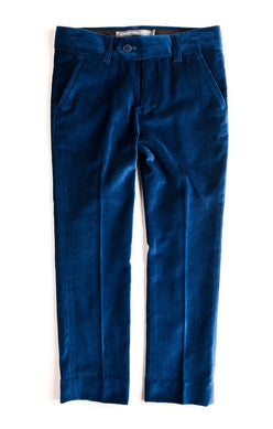 Appaman Boys Mod Suit Pant In Seaport Velvet