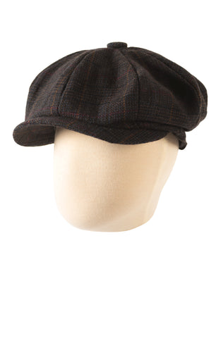 Appaman Paperboy Cap In Hartwist Plaid.
