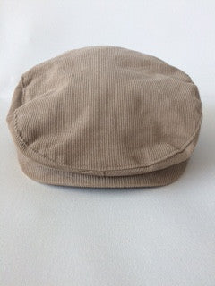 Janie and Jack Tan Newsboy Hat
