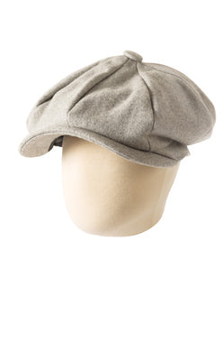 Appaman Paperboy Cap In Light Grey.