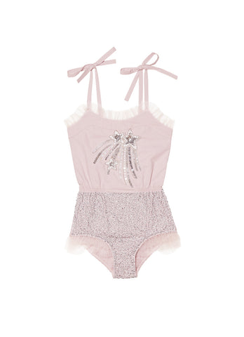 Tutu Du Monde Strawberry Stars Onesie in Musk available for rent from The Borrowed Boutique.