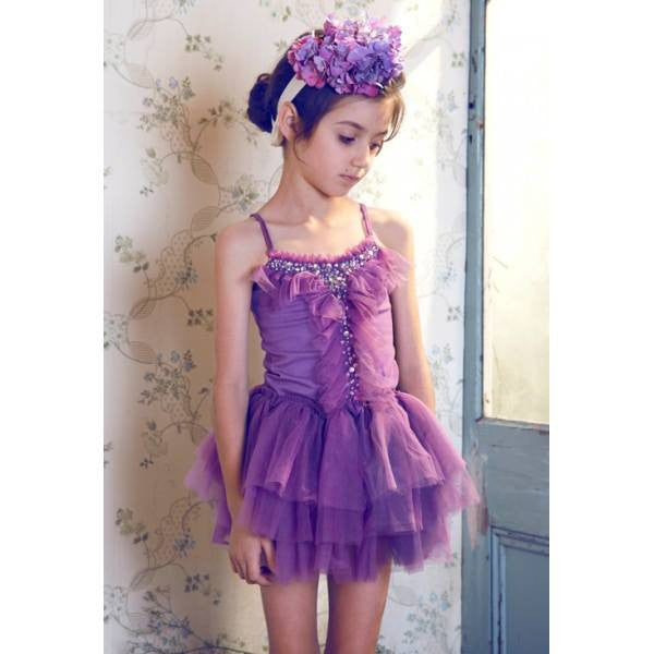 Tutu Du Monde Grapevine Tutu Dress in Amethyst available for rent from The Borrowed Boutique.