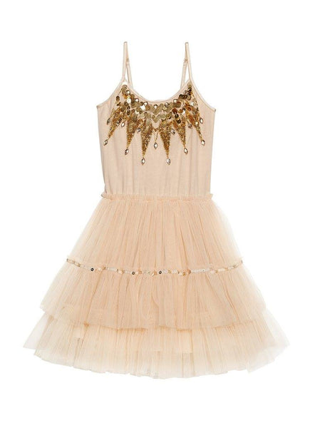 Tutu Du Monde Golden Goose Tutu Dress in Biscotti available for rent from The Borrowed Boutique.