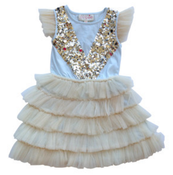 Tutu Du Monde Luminaire Dress in Foam available for rent from The Borrowed Boutique.