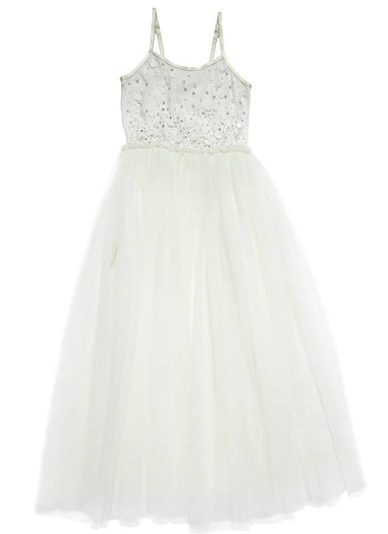 Tutu Du Monde Miles Away Tutu Dress (Long) in Milk available for rent from The Borrowed Boutique.