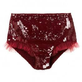 Tutu Du Monde Steal The Show Shorts in Cranberry available for rent from The Borrowed Boutique.