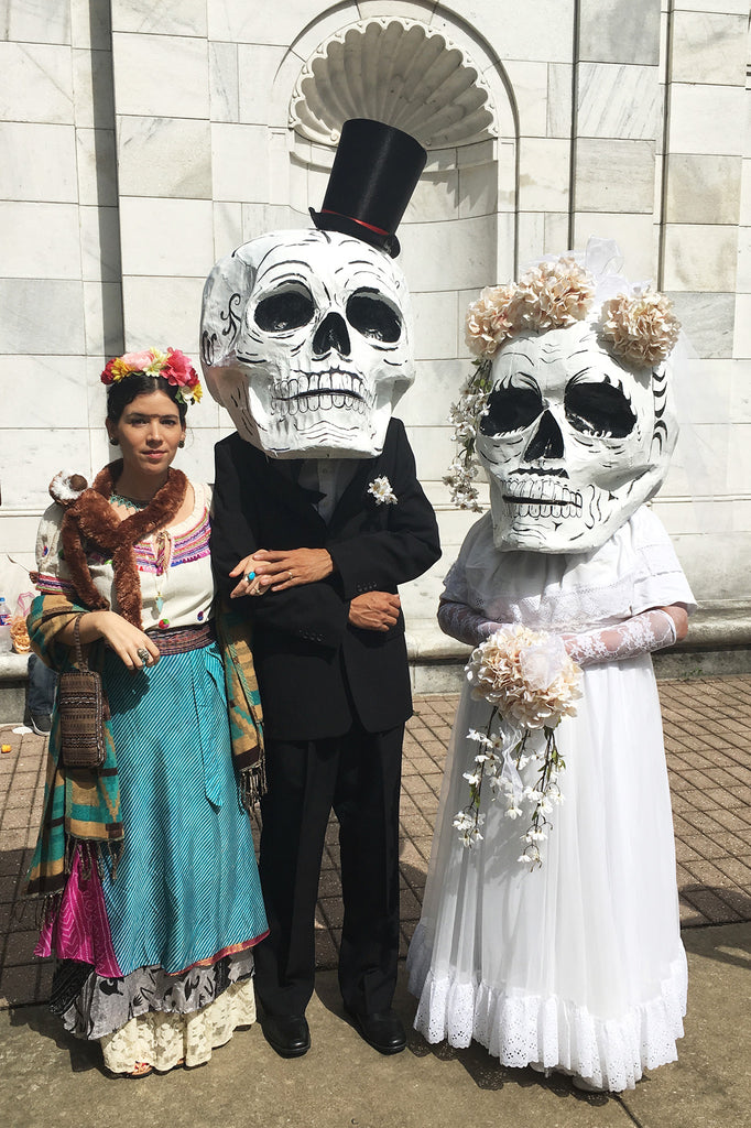 Day Of The Dead Festival & Frida Kahlo Look-Alike Contest
