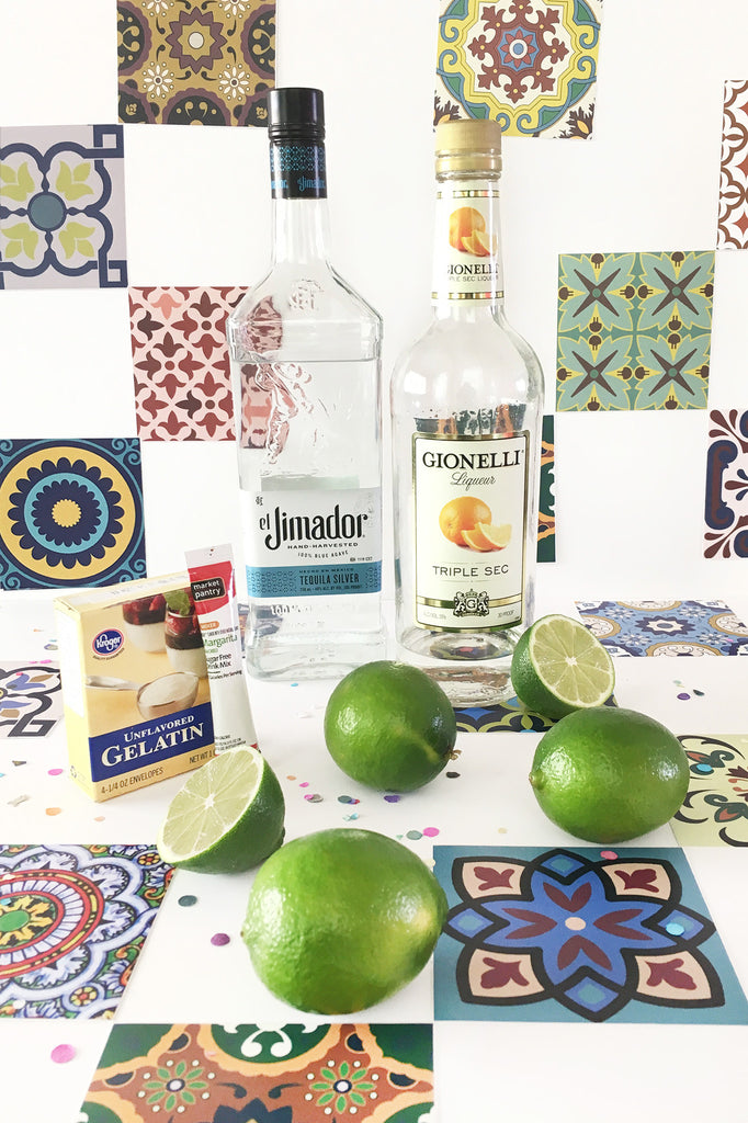 ¡Top Shelf Margarita Lime Wedge Jello Shots Recipe!