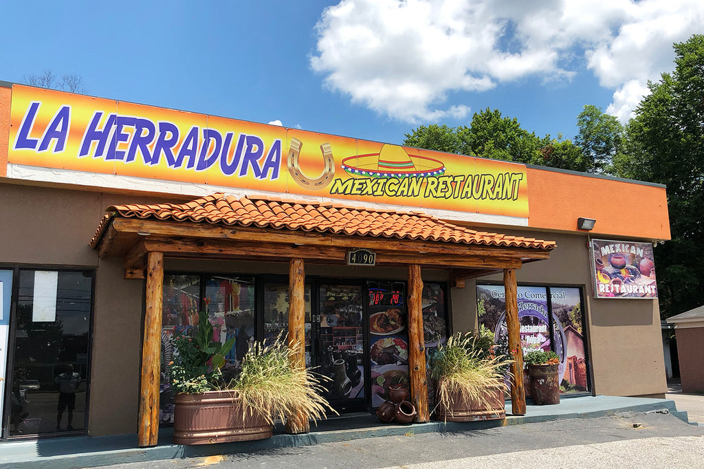 Lunch At La Herradura On Summer Ave.