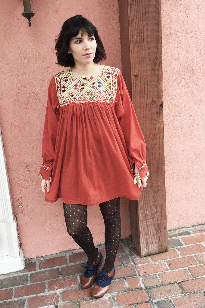 Mod Mexican- How to Style the New Tunic 3 Ways