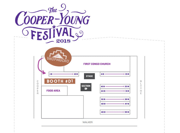 ShopMucho at Cooper Young Festival