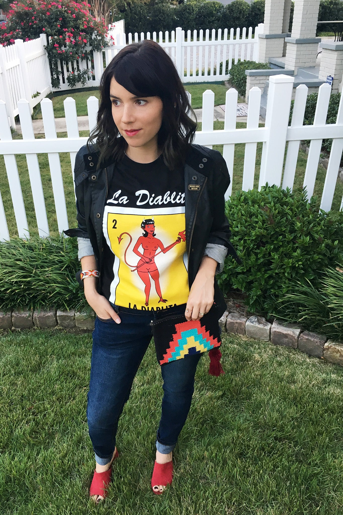 ShopMucho owners styles la diablita loteria graphic tee on the blog