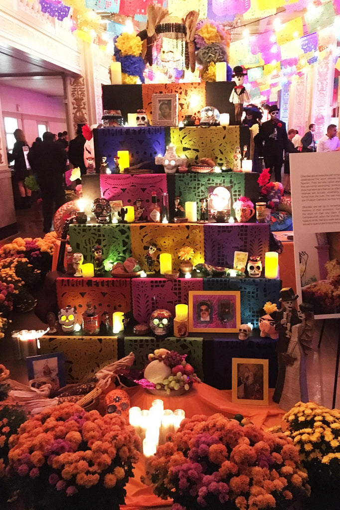 ShopMucho goes to the day of the dead fiesta in downtown Memphis TN