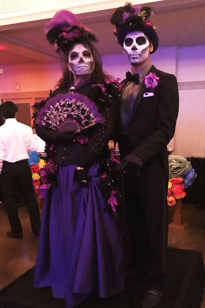 Day of the Dead Fiesta in Memphis - Mexican Clothing attire