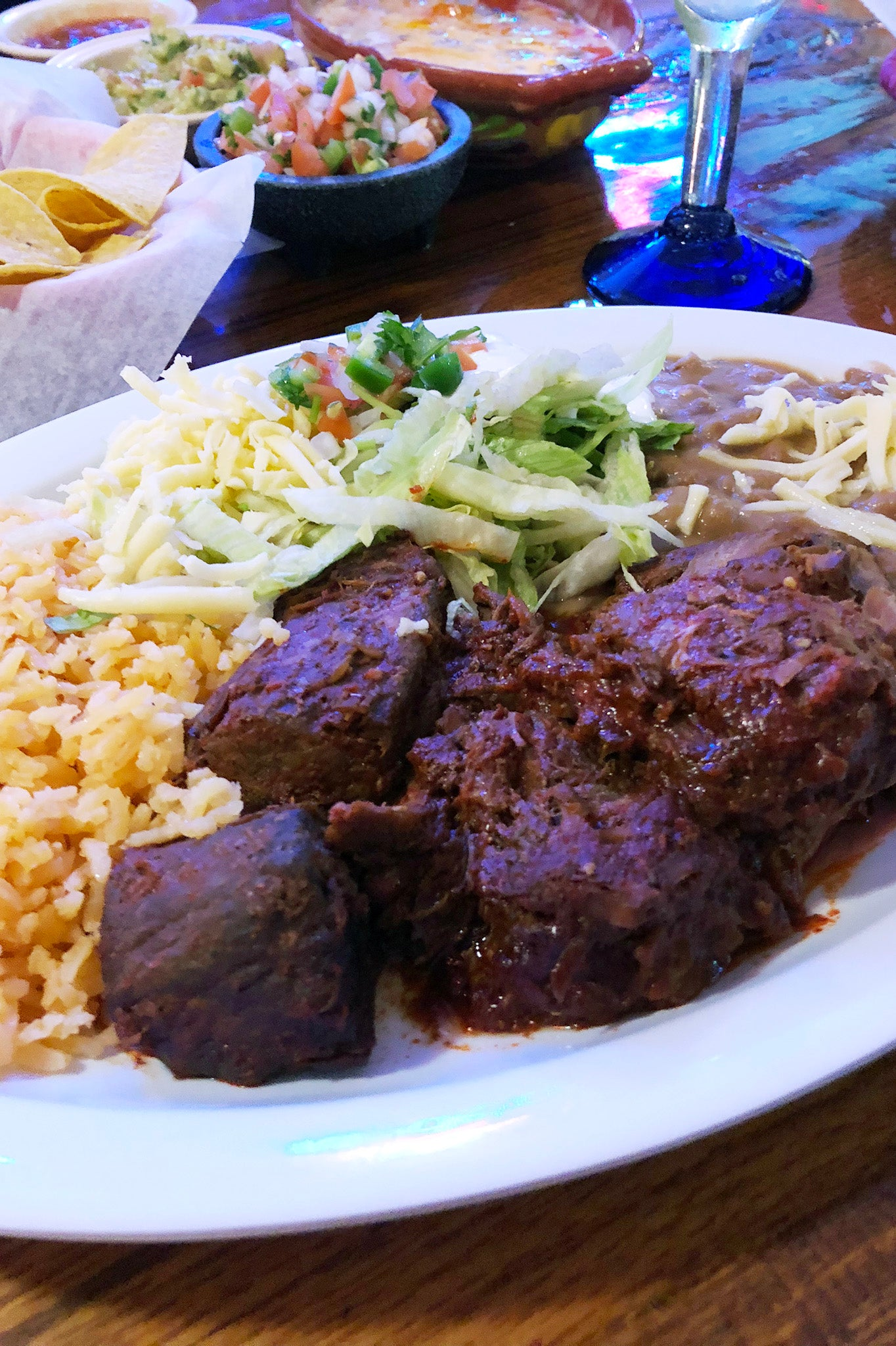ShopMucho goes to La Herradura on Summer Ave. for lunch