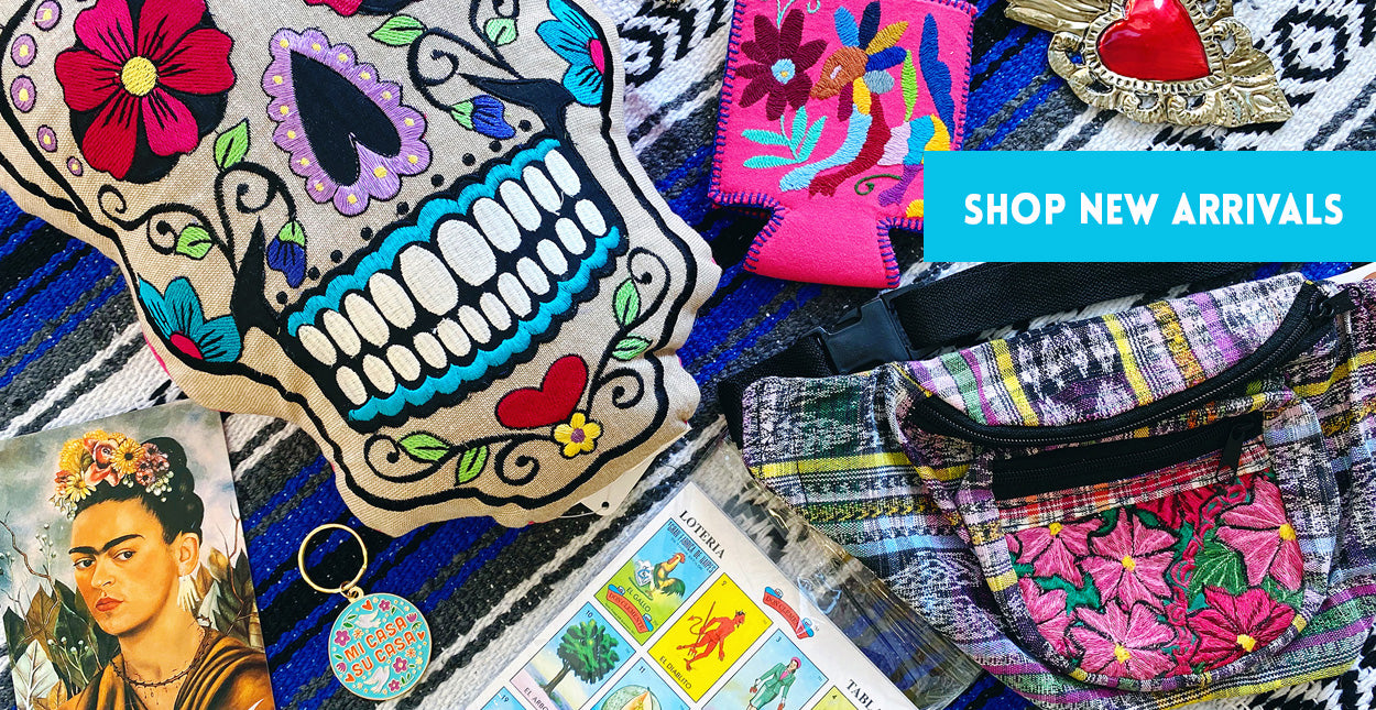 ShopMucho new arrivals modern Mexican women's clothing, accessories, and home decor