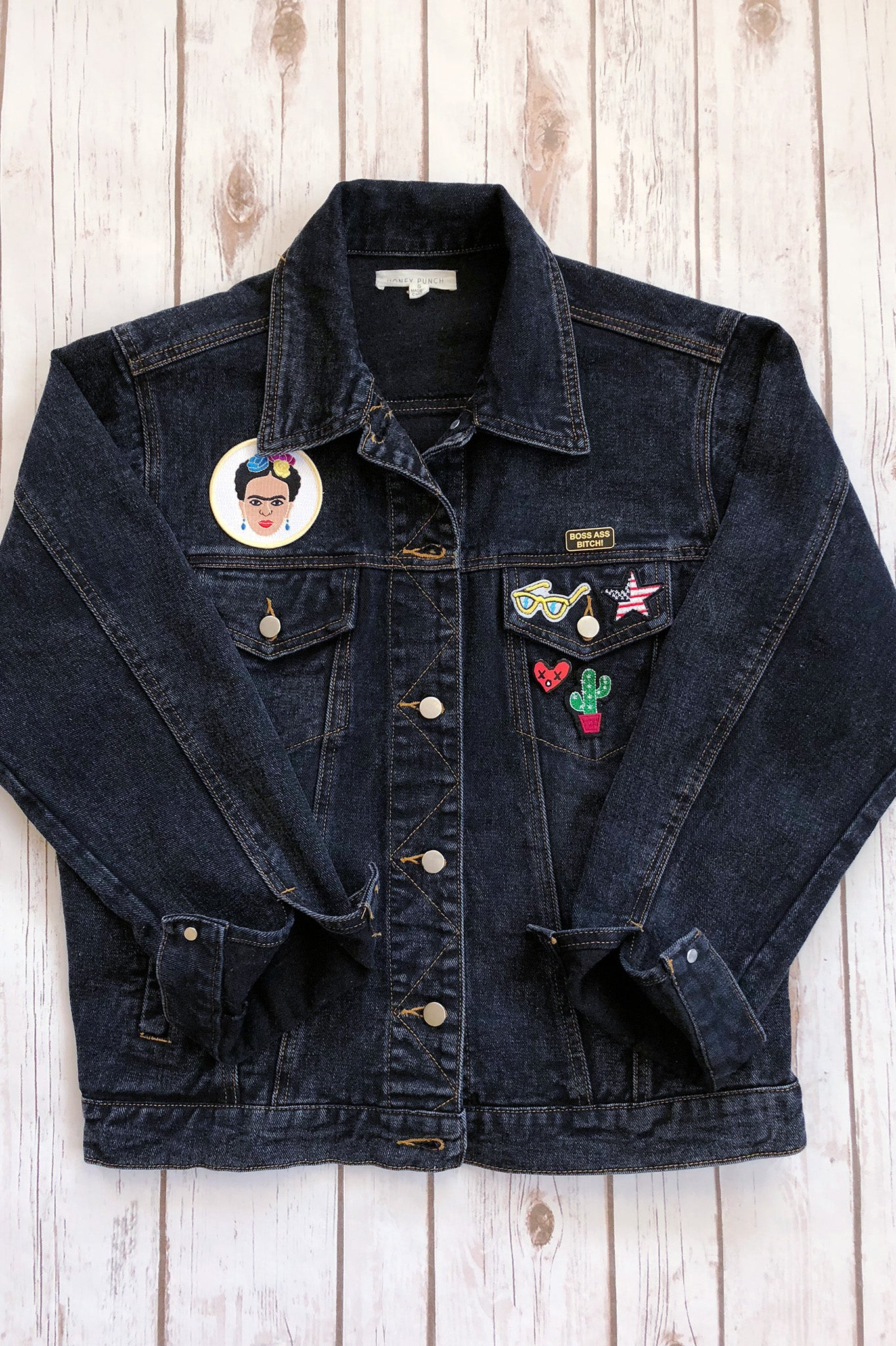 ShopMucho shows ways to add patches to your favorite items like denim jacket, beanie, and backpack