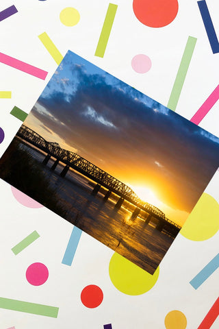 ShopMucho Memphis Harahan Bridge Sunset Print