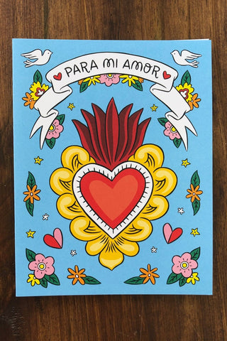 ShopMucho for my love greeting card