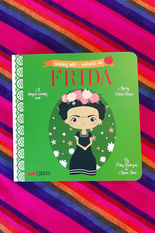 ShopMucho lil' libros children picture books- Counting with Frida
