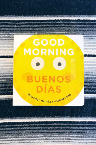 ShopMucho Good Morning Buenos Dias Bilingual Children's book