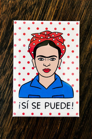 ShopMucho Frida Kahlo Kitchen yes you can, Rosie the riveter We Can Do It