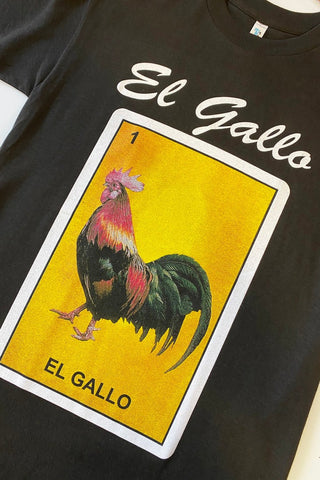 ShopMucho Loteria T-Shirt in El Gallo