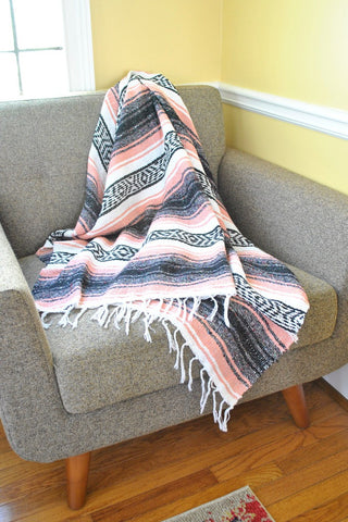Mexican Falsa Throw Blanket (More Colors)