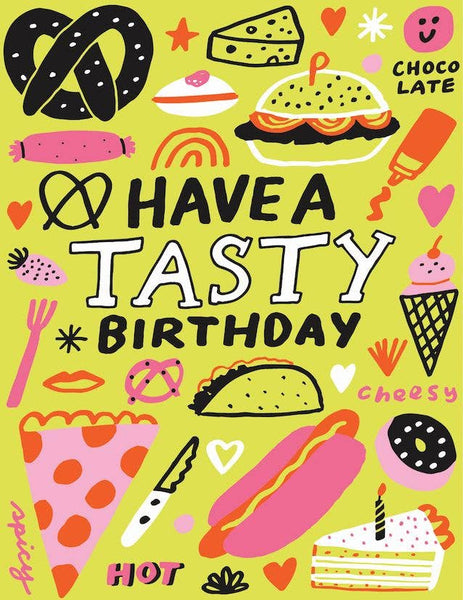 ShopMucho Tasty Birthday Greeting Card