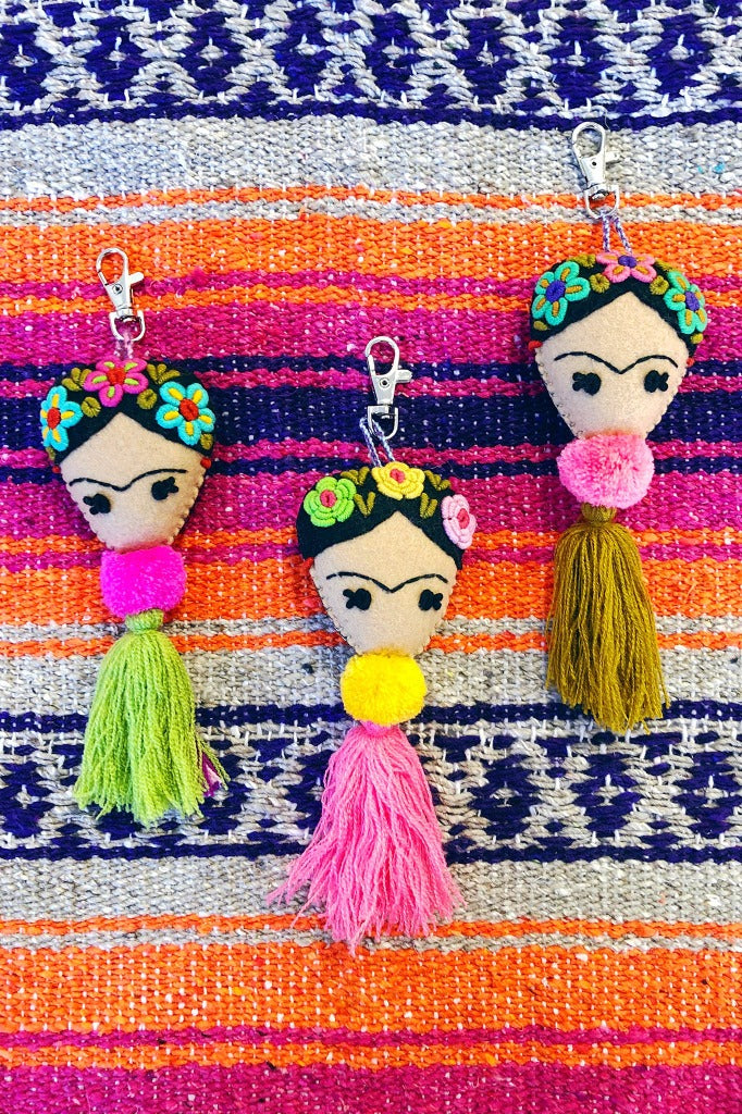 ShopMucho Frida embroidered Tassel